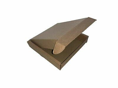 Royal Mail Large Letter Postal Box Pip Cardboard 100 Mini 100x100 x 20mm Brown