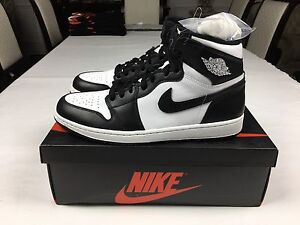"Air Jordan 1 Retro ""Black/White"" size 11.5 DS"