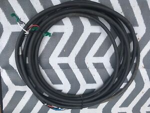 60 Feet of 1000 Volt/75 Amp Armoured Cable 3 Conductor/1 Ground