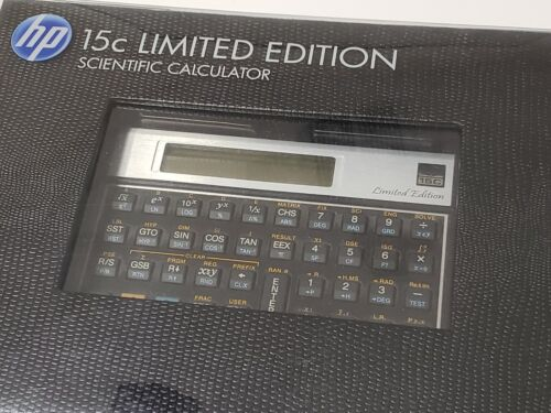 New HP 15C Hewlett Packard Calculator Limited Edition
