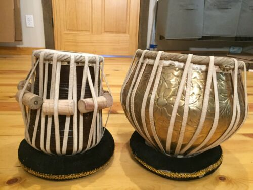 Sona Music Palace Pro Tabla Set Copper Bayan and 5.5-Inch Dayan w/ Padded Case