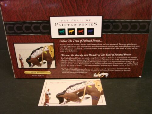 Trail of the Painted Ponies Figurine  BLOOD BROTHERS - 1E/0703 - NIB