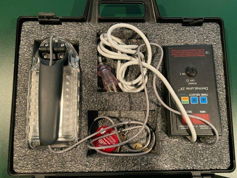 Dermalume 2x Phototherapy Device - National Biologic - Psoriasis Lamp Portable