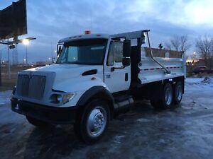 Tandem Automatic Diesel Dump Truck Snow Removal Gravel Truck