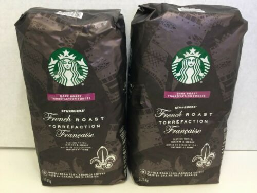 Starbucks French Dark Roast Whole Bean 100% Arabica Coffee, 5lbs, SEPT 2021