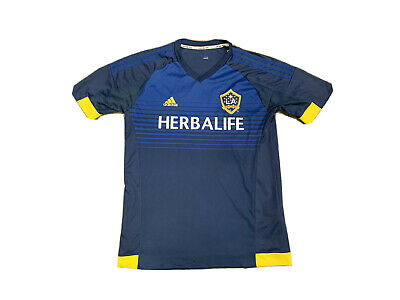 LA Galaxy Herbalife 2015 Adidas MLS Soccer Jersey Size Large image