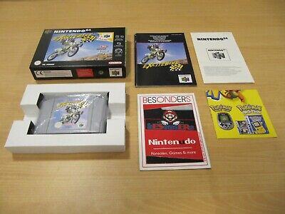 Nintendo 64 - EXCITEBIKE 64 - OVP - PAL - TOP - N 64