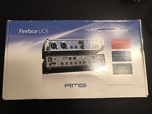 RME FIREFACE UCX INTERFACE and ARC REMOTE
