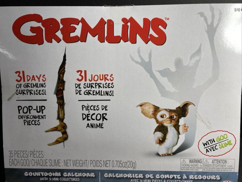 GREMLINS 31 Day Countdown Calendar Advent Goo Slime 2020 New Jakks Pacific