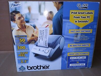 Brother Ql-500 P-touch Label Printer