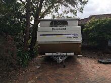 Reduced! Rare 3 bunk pop top Viscount caravan Mornington Mornington Peninsula Preview