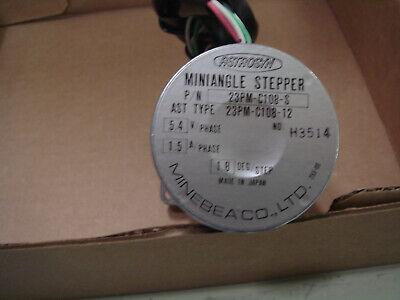 Minebea 23pm-c108-s Astrosyn Miniangle Stepper Motor 5.4v-ac