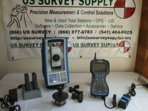 SPECTRA FOCUS 30 ROBOTIC TOTAL STATION WITH RANGER3, SURVEY PRO, CAL