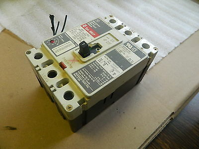 Westinghouse 7A Breaker, HMCP, Cat# HMCP007C0C, 3 Pole, 600V, Used
