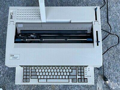 Lexmark Ibm Wheelwriter 3000 Electronic Typewritter 6784-004 With 2 New Ribbon