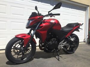 2014 HONDA CB500F trade for Yamaha fz6r