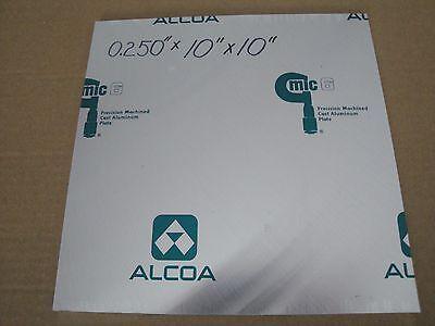 Mic- 6 Cast Tooling Aluminum Plate 1pc. X 0.250 X 10 X 10