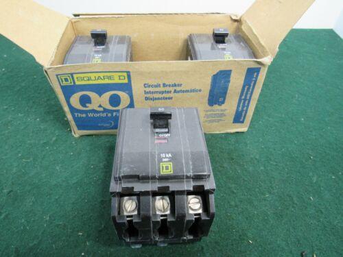 Square D QOB350 Bolt On Circuit Breaker 50A 3P 240V Type QOB 50 Amp 3 Pole NIB