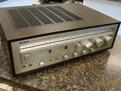 Vintage Yamaha CR-640 Natural Sound AM/FM Stereo Receiver 260W