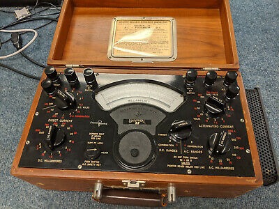 Sensitive Research Instrument Co. Universal 88 Polyranger Voltage Meter 1965