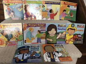 Smart about safety & people who help us children's books
