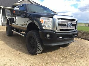 Ford F350 Platinum 2014