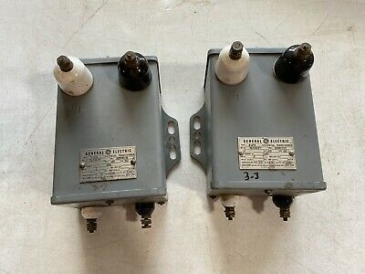 One Vintage Ge Potential Transformer Type E-21 Model 3109079 240v 50cy Used