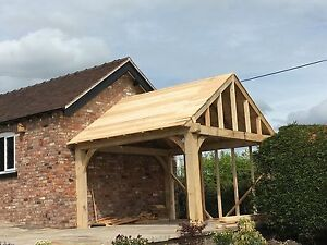 Oak Framed Wooden Gazebo / Hot Tub Shelter/ Car Port