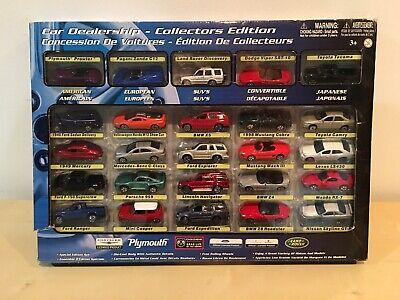 Motor Max Diecast Car Dealership Collectors Edition Set Of 25 Cars BNIB