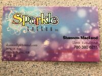 Sparkle Tattoo party/ event rental!