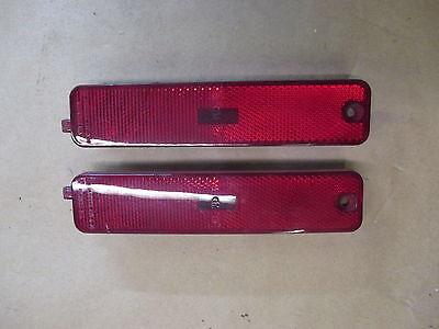 93-02 Firebird Trans Am Rear Side Marker Light Lens LH RH Pair