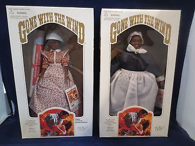 GONE WITH THE WIND WORLD DOLLS LOT OF 2 NEW, NRFB FACTORY SEALED COA MINT 1989