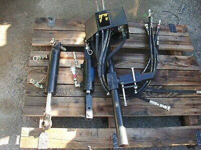 Gearmore 2 Spool Top And Tilt Auxiliary Hydraulic Kit For Bx24 Other Tractors