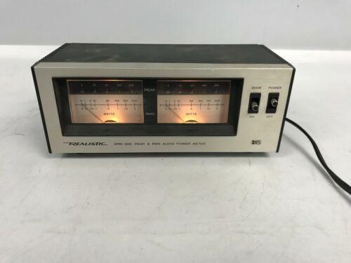 Realistic APM-200 Audio VU Meter Model 42-2102A