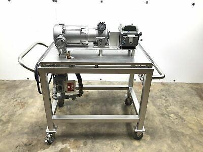 Watson Marlow 701br Pump Head W Tsubaki Dk004afn Gear Box Electric Motor