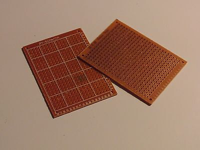 2pcs DIY Prototype Paper PCB Universal Experiment Matrix Circuit Board 5 x 7cm