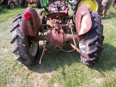 Good Year Gy 11.2 X 28 Rear Tractor Tires 98 Tread Ford 9n 2n Rear Rim
