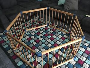 Outdoor wooden kids playpen High Wycombe Kalamunda Area Preview