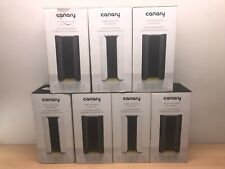 LOT OF 7 AS IS Canary All-in-One Home Security Device Camera Surveillance LOCKED