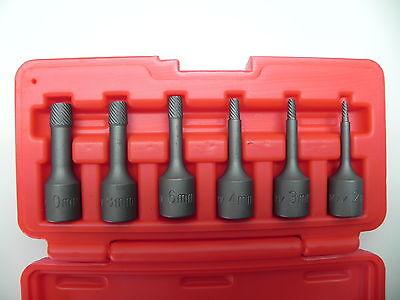 Schraube Stehbolzen Ausdreher Satz Set Werkzeug Kfz Linksbohrer Auto Ausbohrer