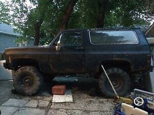 73 gmc Jimmy (76 body) project