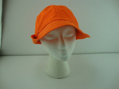 e46e893af192a3 Vintage Original Jones Hat Cap Size Large Non-Adjustable Blaze Orange  Hunting
