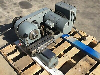Nice Hardinge Speed Lathe 5c W Taper Lock Nose 110v W Cross Slide