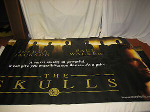 The-Skulls-Joshua-Paul-Walker-Official-Theatrical-Movie-Banner-115-X-53-RARE