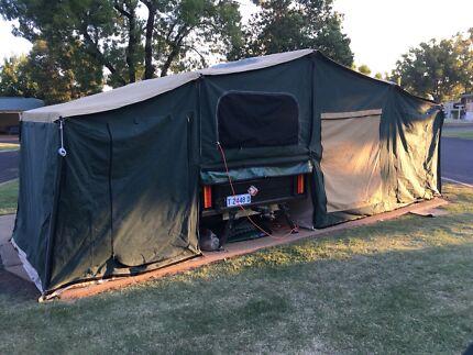 Extreme off-road camper