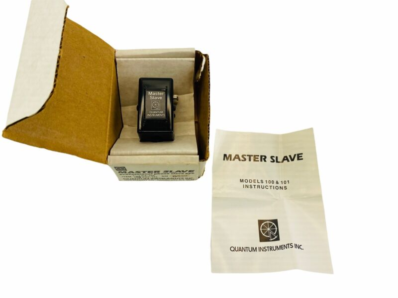 Original Quantum Instruments  PCF-101  Pro Photo Slave Eye New with Box