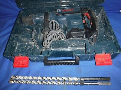 Bosch Rh745 1-34 Sds-max Combination Hammer Drill W Case 2 Bits