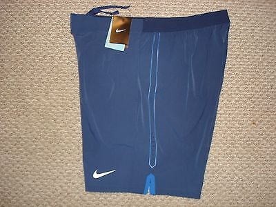 "NWT Nike Gladiator Printed 9"" Tennis Shorts 658060-411 Federer Nadal NEW XL for sale  USA"