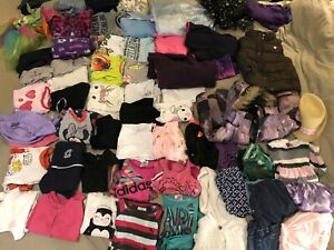 Lots of girls clothes, size 2-4. Over 80 items!