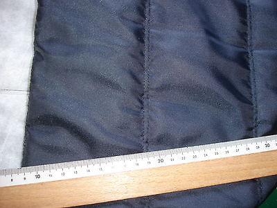 0,5 Laufmeter Steppstoff 3,13€/m²  nachtblau CP14